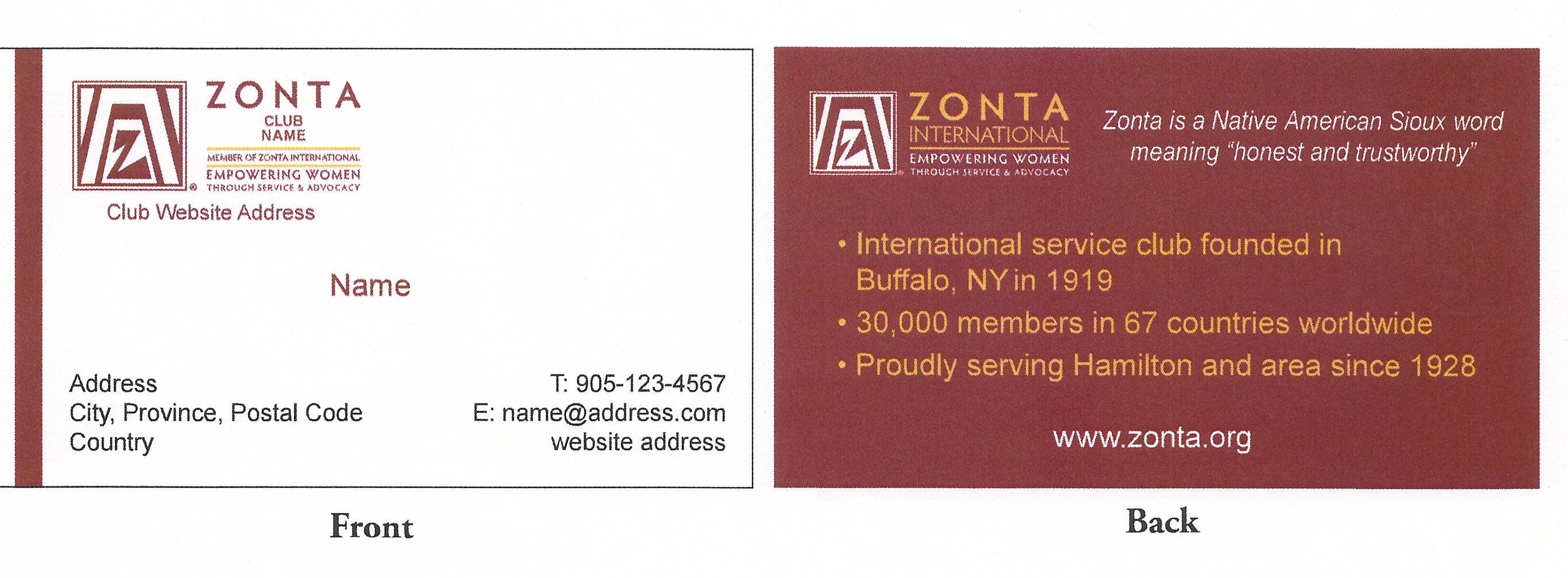 Zonta District 4 – Club Bylaws Template