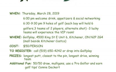 Spring into Golf with the ZC of Kitchener-Waterloo
