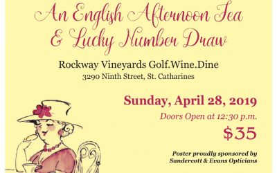 An English Afternoon Tea & Lucky Number Draw