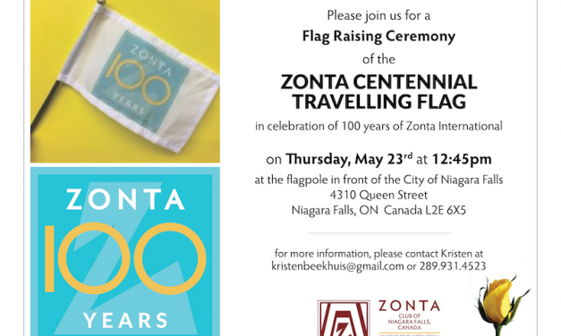 Centennial Flag Raising Ceremony May 23