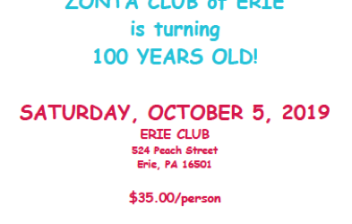 ZC of Erie Celebrating 100 Years