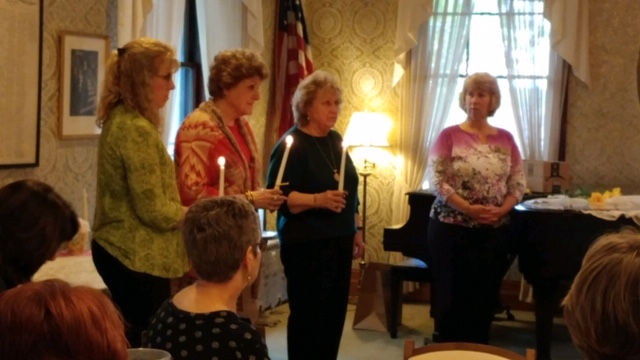 ZC of Jamestown Inducts Three New Members
