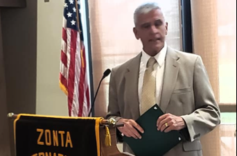 Zonta Day in Bradford Proclaimed by Deputy Mayor on July 18, 2019