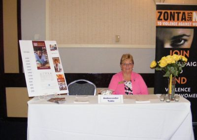 District 4 Conference Ambassador's Table
