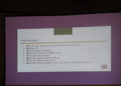 Advocacy Committee Conference Presentation