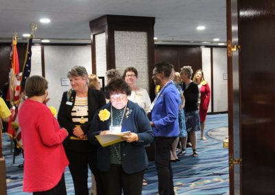 District 4 Elected Officers Prepare for Conference Procession