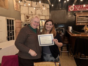 ZC of Oil City-Franklin Receives Community Involvement Award