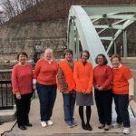 ZC of Oil City-Franklin Light Bridge in Orange