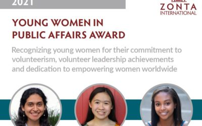 Upcoming Deadline for Young Women in Public Affairs Award