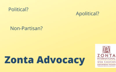 ADVOCACY: POLITICAL YES, NON-PARTISAN, YES